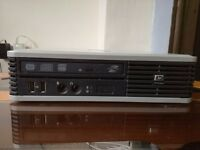 Ultra-slim HP Compaq dc7800p Core 2 Duo 3.0GHz, 3GB RAM, 160GB HDD, DVD RW