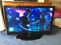 SAMSUNG 40 INCH FULL HD 1080P LCD TV WITH DIGITAL FREEVIEW BUILT IN.