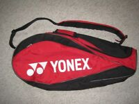Yonex Badminton Racquet Shoulder Bag - Red & Black