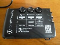 The ToneWoodAmp allows you to play your acoustic guitar with 8 effects, different effects, UNPLUGGED