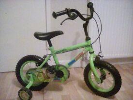 Apollo kids bike used twice!