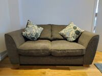 DFS Zara sofas and armchair with cushions