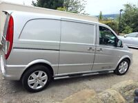 Mercedes Vito 115 150 bhp genuine Sport van in Silver. Excellent Condition with Full service history