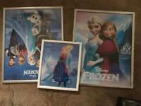 Frozen posters