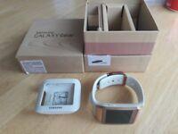Rose Gold Galaxy Gear Smart Watch