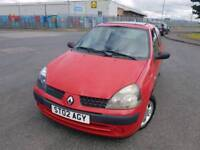 RENAULT CLIO 1.2ltr_3dr *** LOW MILES - FREE DELIVERY ***
