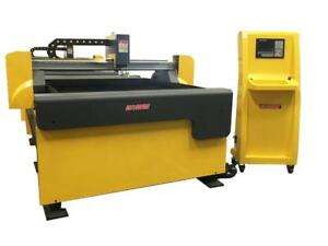 4' x 4' CNC Plasma Cutting Table with  Hypertherm or Miller Spectrum Plasma *Special Offer*