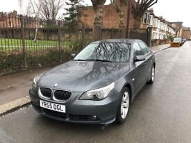 2005 BMW 525D SE DIESAL 4 DOOR SALOON WITH FULL SERVICE HISTROY AND MOT