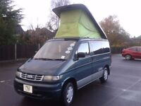 mazda bongo ford fiendee 1997 4x4 2.5 td auto pop roof 4 birth air con tinted glass long mot