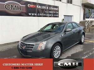 2011 Cadillac CTS 3.0L AWD LEATH *CERTIFIED*
