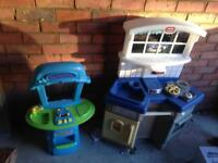 Kids toys furniture sold as seen