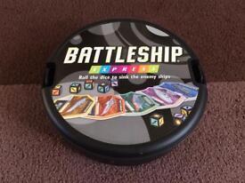 Battleship Express card game - travel game