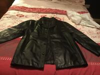 Leather Jacket Gents Size Large