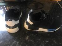 Boys UK4 Adidas Originals NMD R1