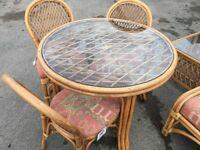 Large cane furniture set cain furniture suite