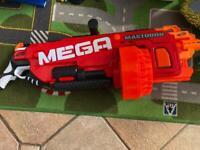 Nerf mega mastodon electronic nerf gun