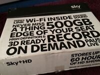 Sky+HD BOX with Remote and WiFi 20£