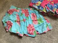 2x Abercrombie and Fitch skirts size medium