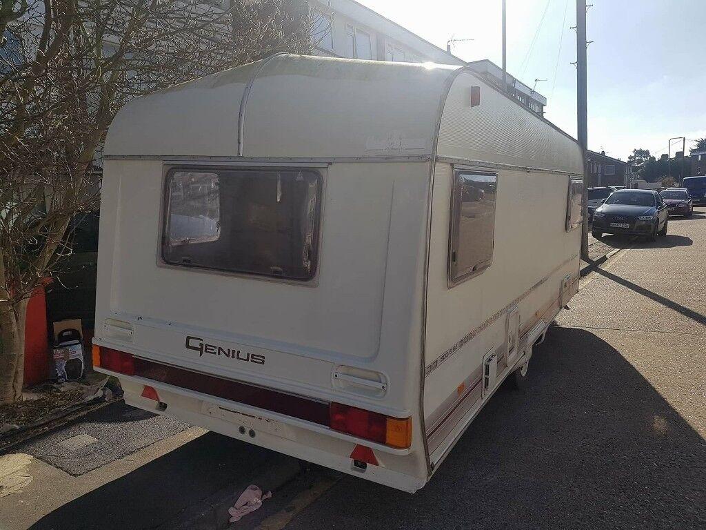 coachman mini genius caravan
