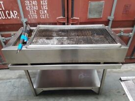 charcoal grill peri piri grill BBQ commercial grill no need gas only charcoal