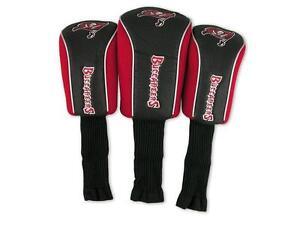 NFL Tampa Bay Buccaneers 3 Pack Mesh Longneck Headcover Set