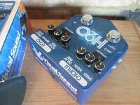 Visual Sound H2O v2 Pedal Chorus and delay (Boxed as new)