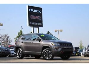 2017 Jeep Compass Trailhawk 4x4| Pano Sun| Nav| Heat Leath/Wheel