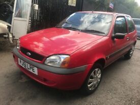 ford fiesta 2002 1.3 petrol red 3dr Breaking For Spares - Wheel Nut
