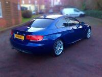 BMW M SPORT - DIESEL - COUPLE - BLUE EXCELLENT CAR