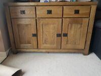 Oak Furnitureland Sideboard