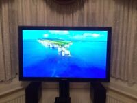 "Samsung 50"" HD Ready Plasma TV with integrated freeview"