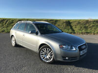STUNNING 2007 AUDI A4 ESTATE 3.2 ONLY 42,000 MILES AND FULL AUDI MAIN DEALER SERVICE HISTORY!