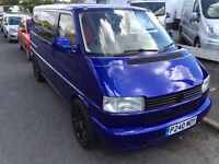 Volkswagen T4 1.9tdi, Low Miles 108k, Excellent Custom Respray In Pearl Blue