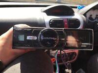 Alpine car radio
