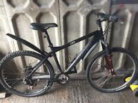 Carrera pedal bike 24gears bargain