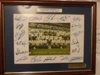 Tottenham Hotspur limited edition Signed & Framed picture