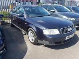 2002 AUDI A6 2.5 TDI..LONG MOT..6 SPEED GEARBOX