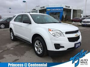2015 Chevrolet Equinox LS, FWD, Alloys, Keyless, Bluetooth