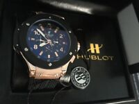 New Swiss Hublot Big Bang King Power Automatic Watch, See Through back