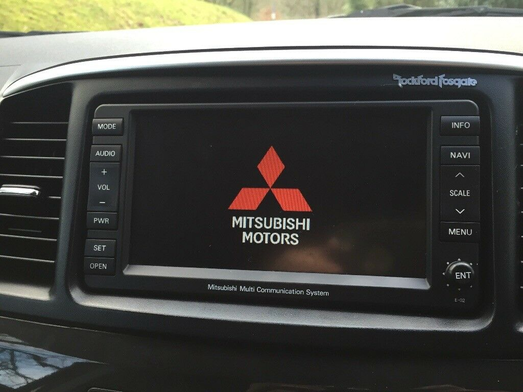 Mitsubishi Lancer/Evo 10/Outlander Genuine Rockford Fosgate Touchscreen SAT  NAV | in Blackburn, Lancashire | Gumtree