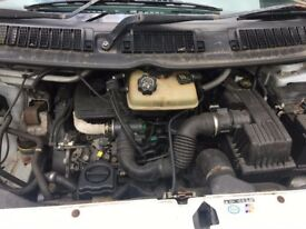 Peugeot Expert Repair / spares Engine only done original 62K miles- new water pump and timing belts