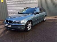 2004 BMW 3 SERIES TOURING 2.0 DIESEL *** FULL YEARS MOT *** similar to golf focus civic 308