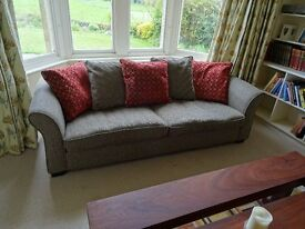 Clean comfy 3 seater sofa from smoke free home.