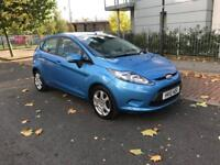 Ford Fiesta 5 Door Hatchback 2010 fresh 1 Year Mot Bluetooth Phone Connectivity