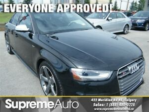 2015 Audi S4 3.0T PROGRESSIV PLUS 6-SPEED