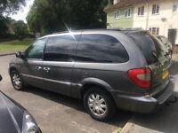 Chrysler Grand Voyager 2.8L diesel for sale