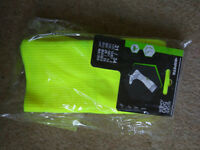 Yellow football socks (shoe size 12-1.5) - Brand new with tags