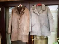 Sheep skin coats