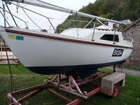 Prelude 19 Sailing Yacht/Boat/Cruiser on Trailer