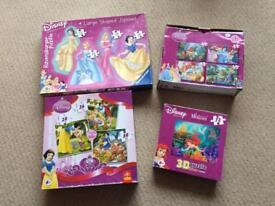 Disney Princesses Puzzle Jigsaw Bundle